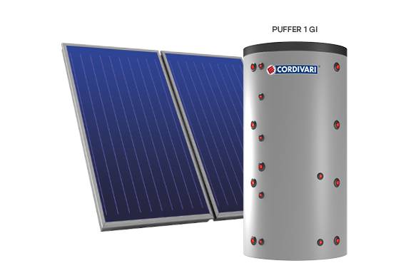 SOLAR THERMAL SYSTEM PUFFER 1 GI