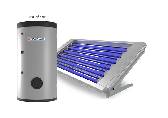 SOLAR THERMAL SYSTEM STRATOS 4S ROTOSHIELD WITH BOLLY 1 ST