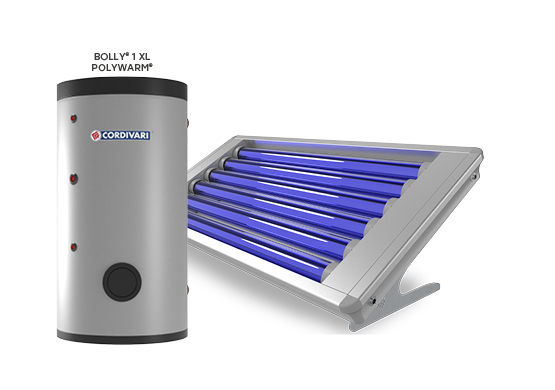 SOLAR THERMAL SYSTEM STRATOS 4S ROTOSHIELD WITH BOLLY 1 XL
