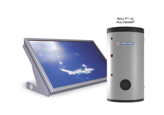 SOLAR THERMAL SYSTEM STRATOS DR WITH BOLLY 1 XL