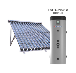 SOLAR THERMAL SYSTEM PUFFERMAS 2 DOMUS CVT